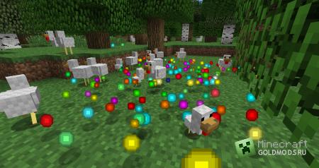 Скачать Rainbow XP  для  minecraft 1.5.1 бесплатно