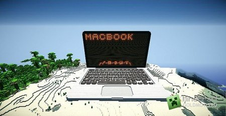 Скачать карту Redstone MacBook Pro для Minecraft