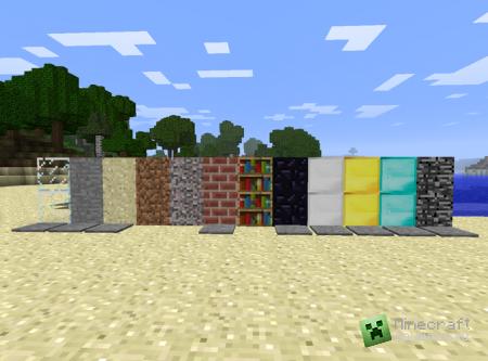 Скачать мод Hidden Doors для Minecraft 1.5.2 бесплатно
