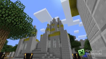 Скачать карту Stormwind для Minecraft бесплатно