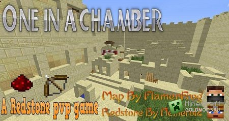 Скачать карту One in the Chamber для Minecraft бесплатно