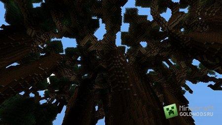 Скачать карту Giant Forest для Minecraft бесплатно