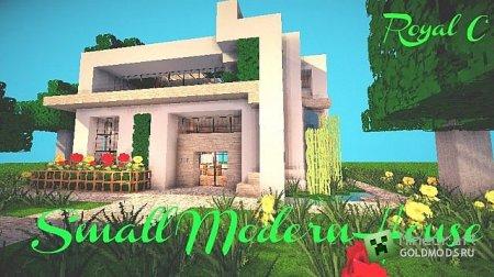 Скачать карту Small Modern House #1 для Minecraft бесплатно