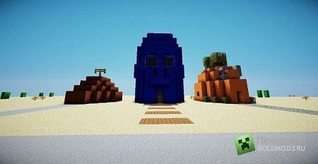 Скачать карту Sponge Bob House для Minecraft бесплатно