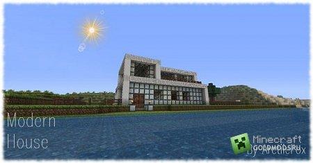 Скачать карту Современный Дом для Minecraft бесплатно
