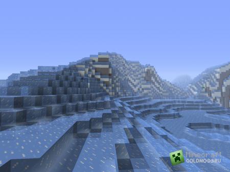 Скачать мод The Glacier Biome для Minecraft 1.5.2 бесплатно