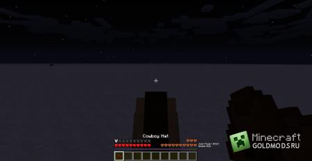 Скачать мод Cowboy Hat для Minecraft 1.6.1 бесплатно