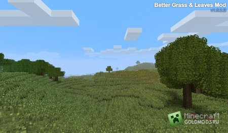 Скачать мод Better Grass and Leaves для Minecraft 1.6.2 бесплатно