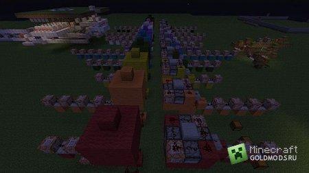 Скачать карту Clash of Classes для Minecraft бесплатно