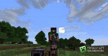 Скачать мод Hand Held Arrow Launcher для Minecraft 1.6.2 бесплатно