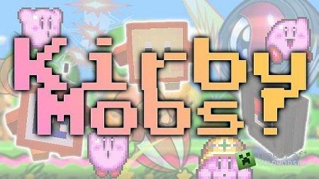 Скачать мод Kirby Enemy для Minecraft 1.6.2 бесплатно