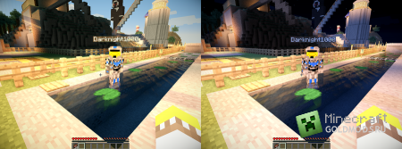 Скачать мод Night To Day для Minecraft 1.6.2 бесплатно