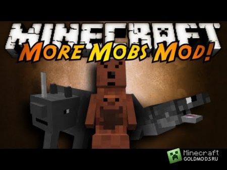 Скачать мод More Mobs для Minecraft 1.6.2 бесплатно