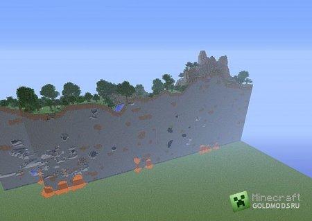 Скачать Super Flat Chunk Glitch для minecraft