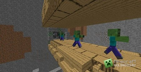Скачать Zombie Bridge для minecraft