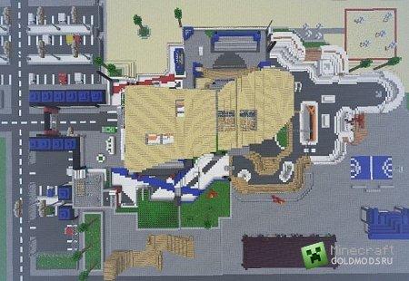 Скачать Grind Black Ops 2 Map для minecraft