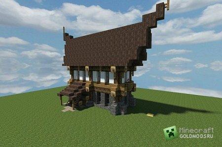 Скачать Medieval House для minecraft