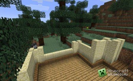 Скачать Fancy Fences для minecraft 1.6.2