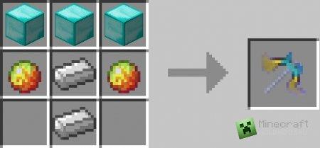 Скачать мод More Pickaxes для Minecraft 1.6.2 бесплатно