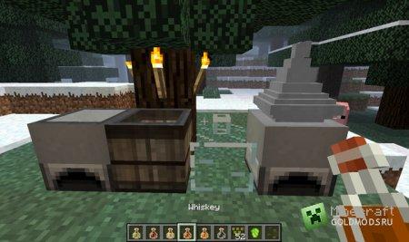 Скачать мод Booze для Minecraft 1.6.2 бесплатно