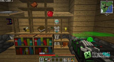 Скачать мод PowerTools для Minecraft 1.6.2 бесплатно