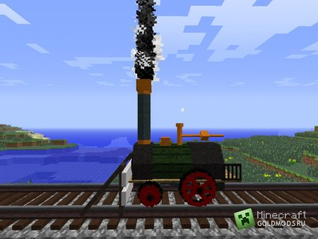 Скачать мод Rails of War для minecraft 1.7.2