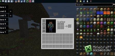 Скачать TooManyItems mod для Minecraft 1.7.4