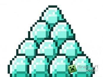 Скачать Podzol To Diamonds mod для Minecraft 1.7.2 бесплатно