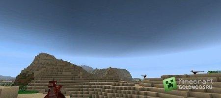 Скачать Jurassic Rebuild для minecraft 1.7.4