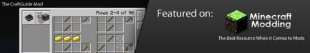 CraftGuide v1.4.4 для minecraft 1.2.5 (Скачать бесплатно и без регистрации)