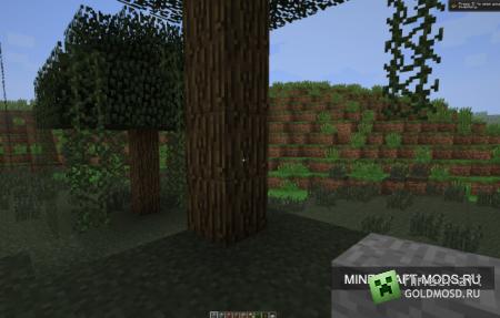 Мод Terraria Trees v4.3 [SSP-SMP] для minecraft 1.2.5 (Скачать бесплатно и без регистрации)