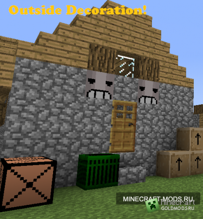Мод More Decoration Blawks для minecraft 1.2.5 (Скачать бесплатно и без регистрации)