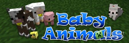 Мод Baby Animals v2.0.1 для minecraft 1.2.5 (Скачать бесплатно и без регистрации)