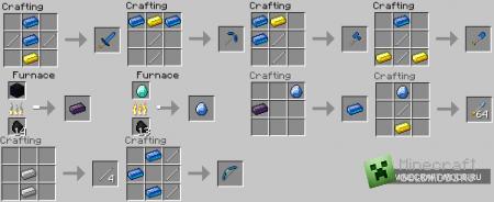 Мод Weylin's Tools для minecraft 1.2.5 (Скачать бесплатно и без регистрации)