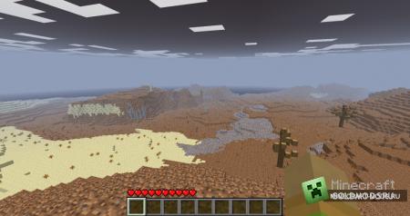Мод The Wasteland Mod v0.8 для minecraft 1.2.5 (Скачать бесплатно и без регистрации)