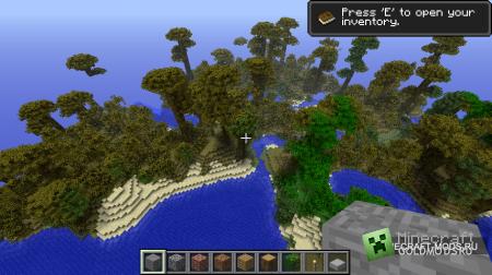 Мод All Jungle World для minecraft 1.2.5 (Скачать бесплатно и без регистрации)