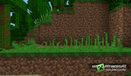 Мод Wildgrass v1.0 для minecraft 1.2.5 (Скачать бесплатно и без регистрации)