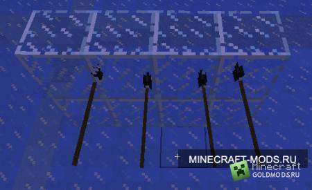 Мод Spears Mod для minecraft 1.2.5 (Скачать бесплатно и без регистрации)