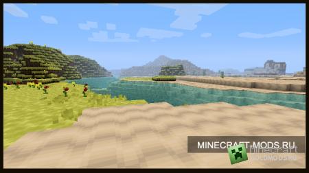 Текстур-пак Dot Sized v0.7 [8x] для minecraft 1.2.5 (Скачать бесплатно и без регистрации)
