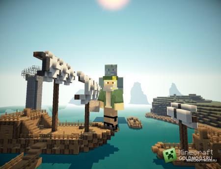 Карта В поисках сокровищ. Эпизод второй для Minecraft 1.2.5 (Скачать бесплатно и без регистрации)